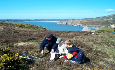 Pennard school day transect for gower commons